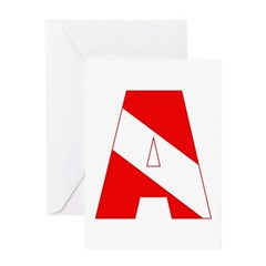 http://i3.cpcache.com/product/189285227/scuba_flag_letter_a_greeting_card.jpg?height=240&width=240