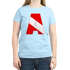 http://i3.cpcache.com/product/189285255/scuba_flag_letter_a_tshirt.jpg?color=LightBlue&height=240&width=240