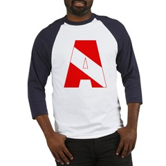 http://i3.cpcache.com/product/189285281/scuba_flag_letter_a_baseball_jersey.jpg?color=BlueWhite&height=240&width=240