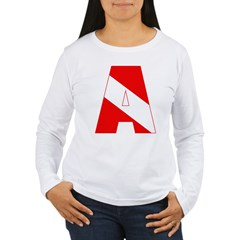http://i3.cpcache.com/product/189285282/scuba_flag_letter_a_tshirt.jpg?color=White&height=240&width=240