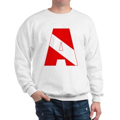 http://i3.cpcache.com/product/189285284/scuba_flag_letter_a_sweatshirt.jpg?color=White&height=240&width=240