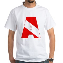 http://i3.cpcache.com/product/189285300/scuba_flag_letter_a_shirt.jpg?color=White&height=240&width=240