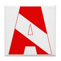 http://i3.cpcache.com/product/189285305/scuba_flag_letter_a_tile_coaster.jpg?height=240&width=240