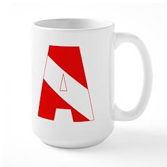 http://i3.cpcache.com/product/189285308/scuba_flag_letter_a_mug.jpg?height=240&width=240