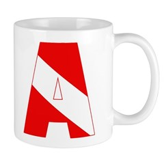 http://i3.cpcache.com/product/189285309/scuba_flag_letter_a_mug.jpg?side=Back&color=White&height=240&width=240
