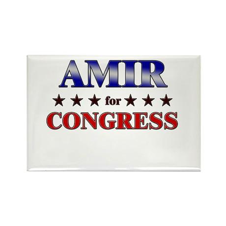 AMIR for congress Rectangle Magnet