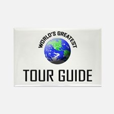 World's Greatest TOUR GUIDE Rectangle Magnet