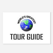 World's Greatest TOUR GUIDE Postcards (Package of