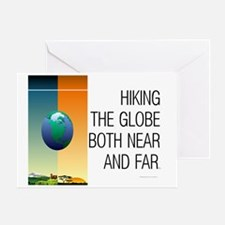 TOP Hiking Slogan Greeting Card