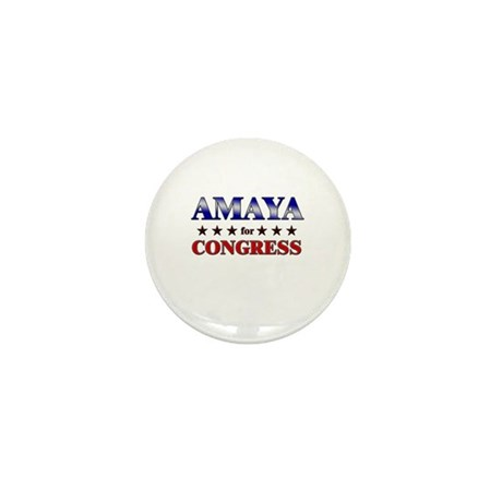 AMAYA for congress Mini Button (10 pack)