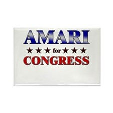 AMARI for congress Rectangle Magnet (10 pack)