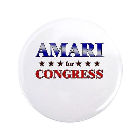 """AMARI for congress 3.5"""" Button"""
