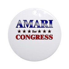 AMARI for congress Ornament (Round)