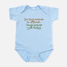 I just farted Infant Bodysuit