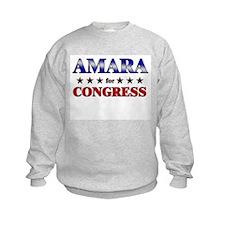 AMARA for congress Sweatshirt