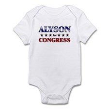 ALYSON for congress Infant Bodysuit