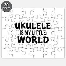 Ukulele Is My Little World Puzzle