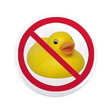"Rubber Duck: No Words 3.5"" Button"
