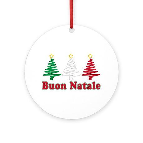 Buon natale Ornament (Round) by italian_store