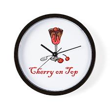 Cherry on Top Wall Clock
