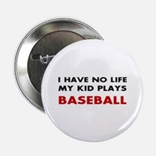 "Baseball Parent 2.25"" Button"