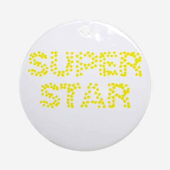 superstar Ornament (Round)