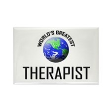 World's Greatest THERAPIST Rectangle Magnet