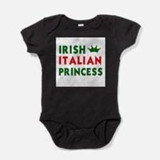 Irish italian Baby Bodysuit