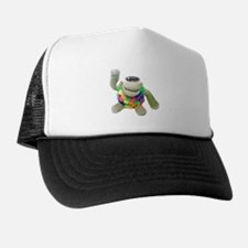 Summer Festival Monkey - High 5... Trucker Hat