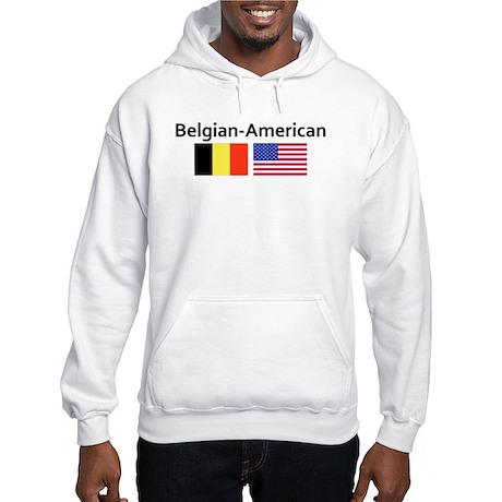 Belgian American Hooded Sweatshirt