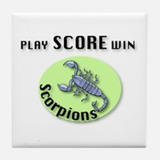 Scorpions Tile Coaster