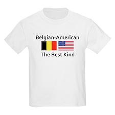 Belgian American-The Best Kin T-Shirt