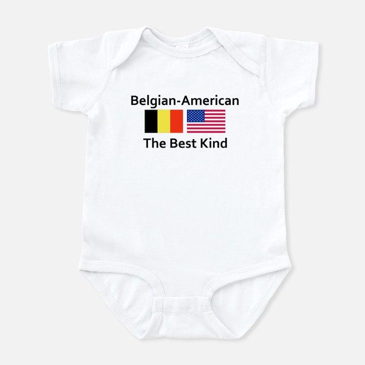 Belgian American-The Best Kin Infant Bodysuit