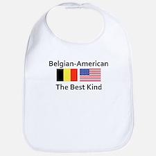 Belgian American-The Best Kin Bib
