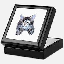 Happy Kitty Keepsake Box
