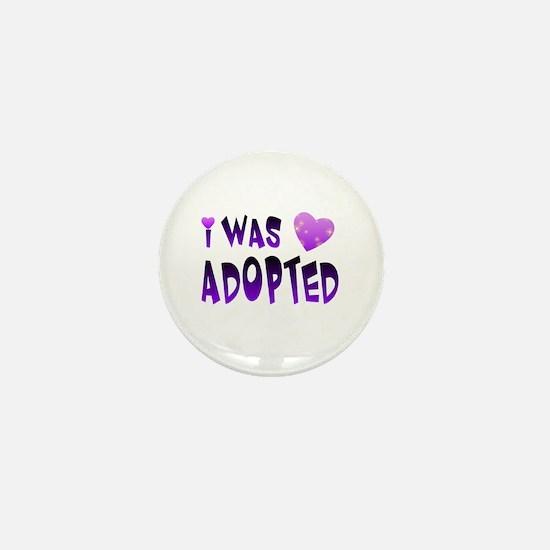 Unique Adoption dog Mini Button