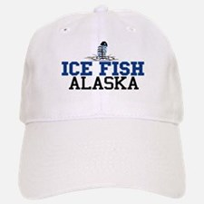 Ice Fish Alaska Baseball Baseball Cap