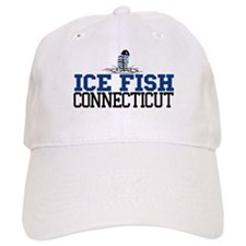 Ice Fish Connecticut Baseball Cap