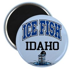Ice Fish Idaho Magnet