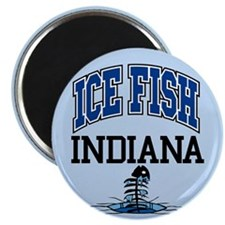 Ice Fish Indiana Magnet