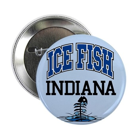 "Ice Fish Indiana 2.25"" Button (100 pack)"