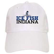 Ice Fish Indiana Baseball Cap