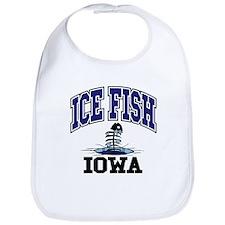 Ice Fish Iowa Bib