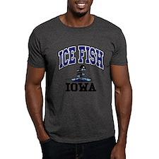 Ice Fish Iowa T-Shirt