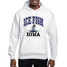 Ice Fish Iowa Hoodie
