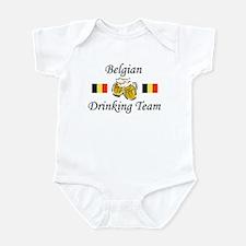 Belgian Drinking Team Infant Bodysuit