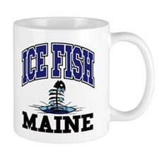 Ice Fish Maine Mug