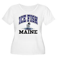 Ice Fish Maine T-Shirt
