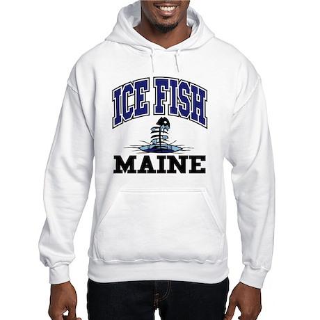 Ice Fish Maine Hooded Sweatshirt