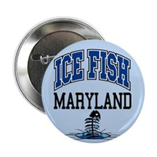 """Ice Fish Maryland 2.25"""" Button"""